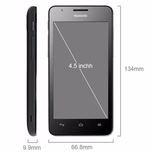 Cheap Smartphone Brand Phone Huawei G520 4.5 inch IPS Screen Android OS 4.1 Smart Phone