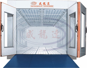 WLD8300 CE)(ISO)(TUV) Auto car baking oven/car paint booth/water based spray booth