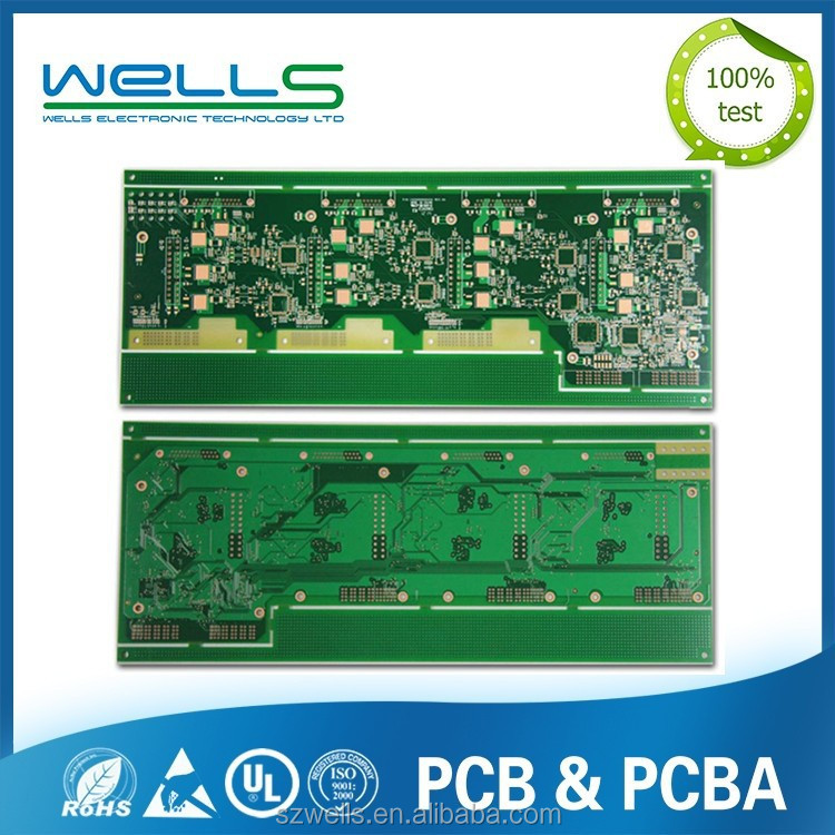 Cutting Edge Printed Circuit Boards( PCB Board)With Low Cost by Shenzhen WELLS PCB production
