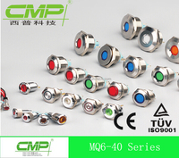 Metal 8mm Indicator LED Light ( Red, Green,Yellow,Orange,Blue,White)
