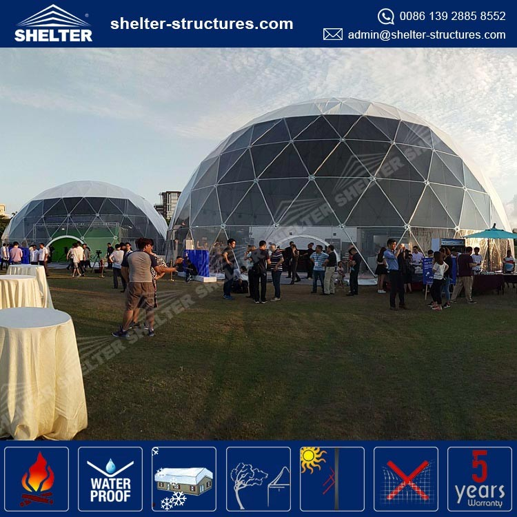 High quality custom made circular tent dome gazebo house