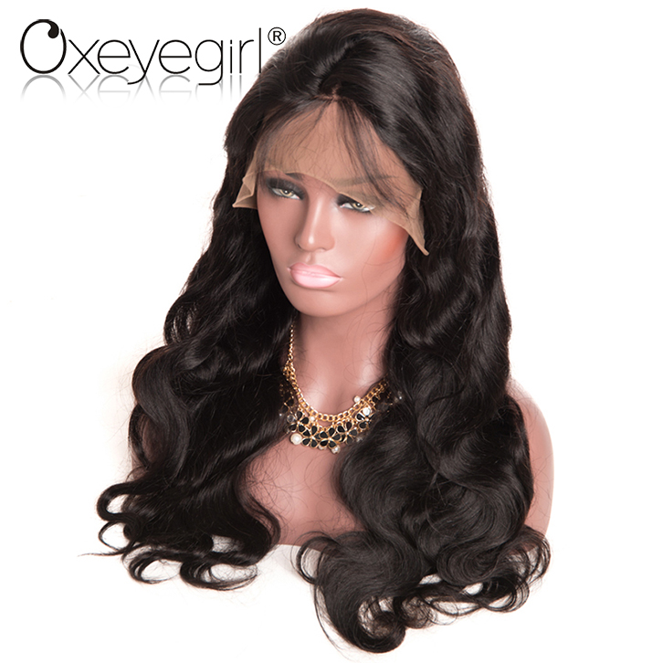 High quality of lace front wig and full hand woven jewish kosher human hair wigs