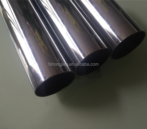 J0050 50mm metal plating Chromed Round pipe / Round Pipe for wardrobe