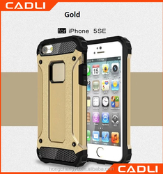 2016 New Arrival Anti Shock proof hybrid armor phone case for iphone 5 SE