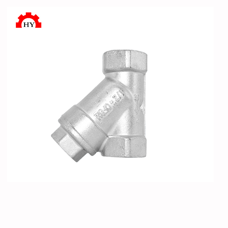 New products 2020 innovative product female thread y strainer