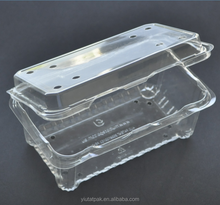 factory directly sale transparent plastic food disposable PP take away food container