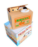 Itazura Kitty Cat Stealing Money Coin Saving Box Piggy Bank