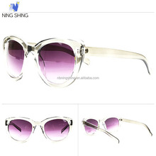 2014 New Model Style Free Sample Colorful Trendy Sunglasses