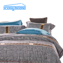 100% cotton colorful hotel bed sheet soft bedding set