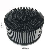 Ronde Voorgeboorde 100 W Led Heatsink Radiator Led, Custom Aluminium 100 W Led Koellichaam Ontwerp Aluminium