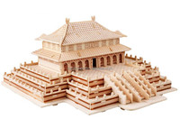 wholesale building products toy 3d building model china building puzzle
