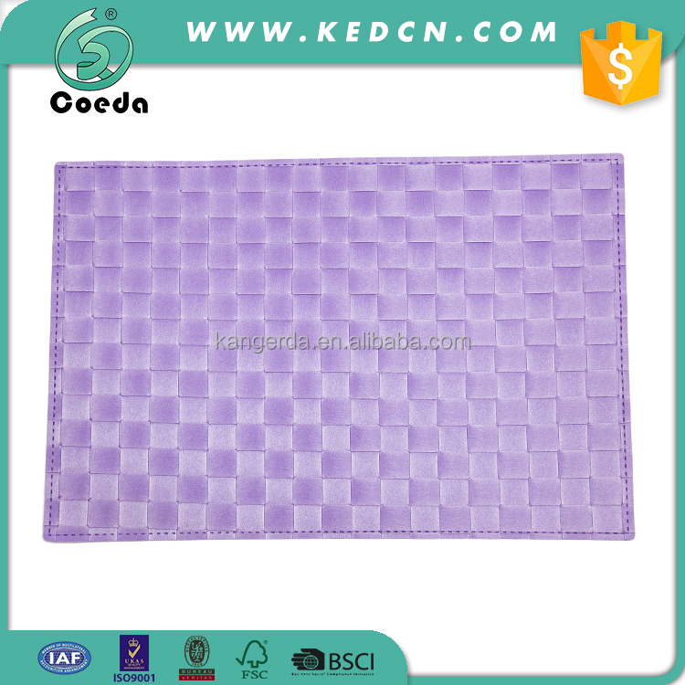 Rectangle Plastic Table Center Place Mat