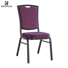 Modern cheap square back metal stacking hotel banquet chair hotel furniture