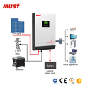 High Efficiency 5KW Hybrid Solar Inverter With Mppt Solar Charge Controller
