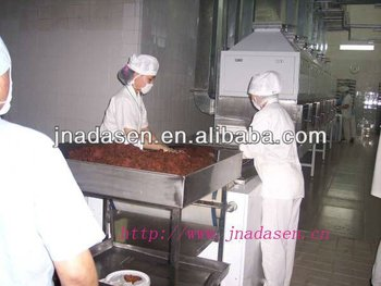 USA good quality Beef chew mutton meat dryer and sterilizer 50-500kg/h with CE certificate