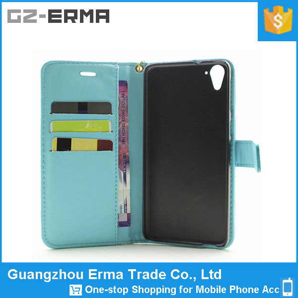Mobile Phone Card holder Wallet Phone Case for htc desire 826