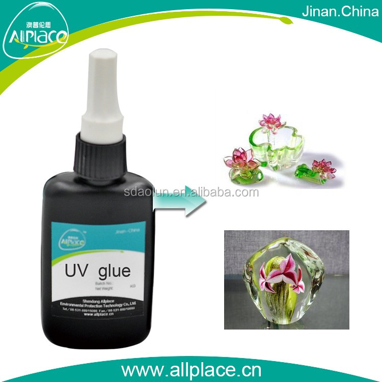 UV lamp curing transparent UV super glass bond glue
