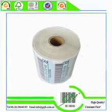 recycled matte white paper labels for express