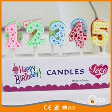 Factory happy birthday cake candles cheap birthday number candles birthday cake candles