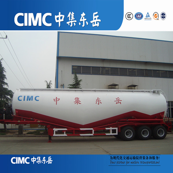 Whole Seller 80 Ton Carbon Steel Powder Trailer 3 Axle Cement Tank Trailer For Sale