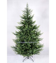 New Style~ wholesale Artificial PE PVC Mixed LED Lights Twig Christmas Tree