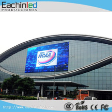 Outdoor Building glass window advertising led display P18.75mm Glass LED wall/glass wall led screen
