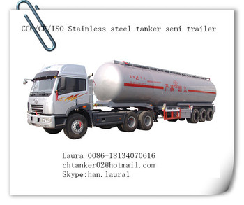 Gasoline/fuel/oil tanker semi trailer