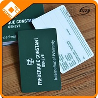visa card size PVC plastic indian business card