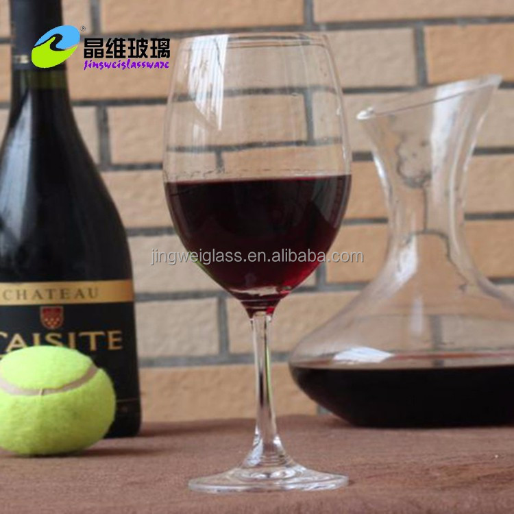 Personalized Handmade high quality crystal red wine glass / white wine glass