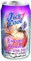 Jus Cool Roasted Coconut Juice With pulp