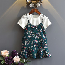 Newest selling custom design baby dress pictures wholesale