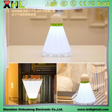 Over bed light badminton LED night lamp