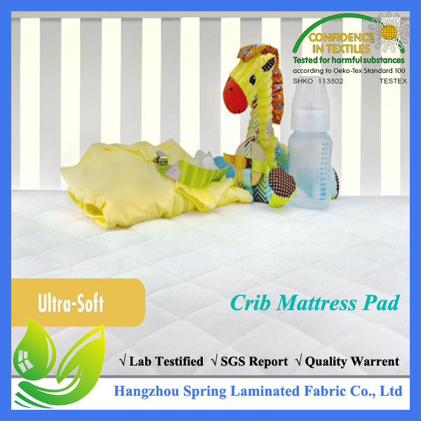 Washer/Dryer Friendly with Stain Protection Mattress Protector for Baby Bed