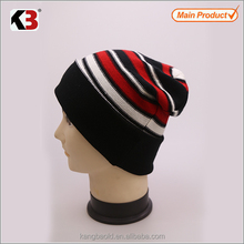 2017 Outdoor Ski Knitted Beanie Mens Winter Hat,crocheted hat
