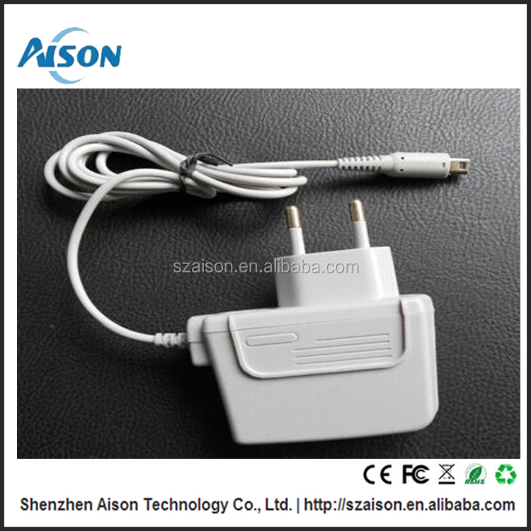 AC100-240V Full Voltage Input Wall Charger for Nintendo 3ds xl console