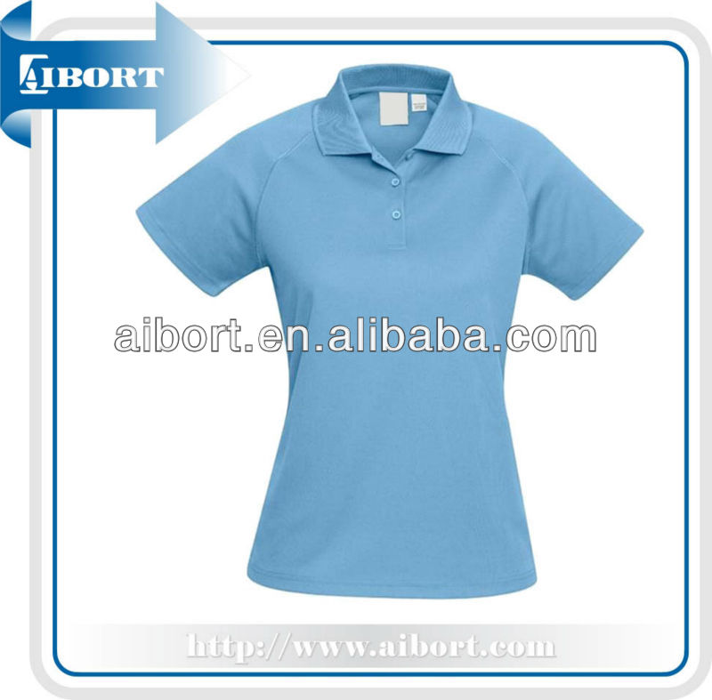 2016New Clothing Customed Polo Shirts for Young girls,european size polo shirt