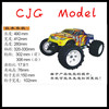 1/8th Scale GP Nitro Powered 4WD off-Road RC Hobby Monster Truck