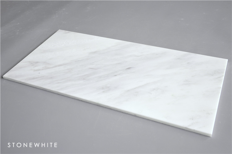 Hot Sale White Marble Tile Fireplace Surround
