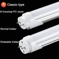 High Lumen 180degree beam angel 4feet 120cm t8 led lighting tube 20w
