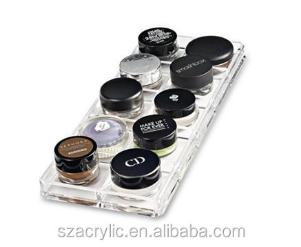 Acrylic paint pot ceam shadow display makeup display