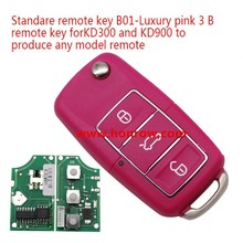 Pin color VW 3 button B01 Luxury remote key master for KD300 and KD900 to produce any model remote