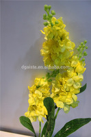 2016 new silk flower single stem and multiple stems artificial flower
