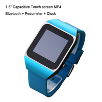 Neo touch screen hand watch mp4 music player with electronic clock