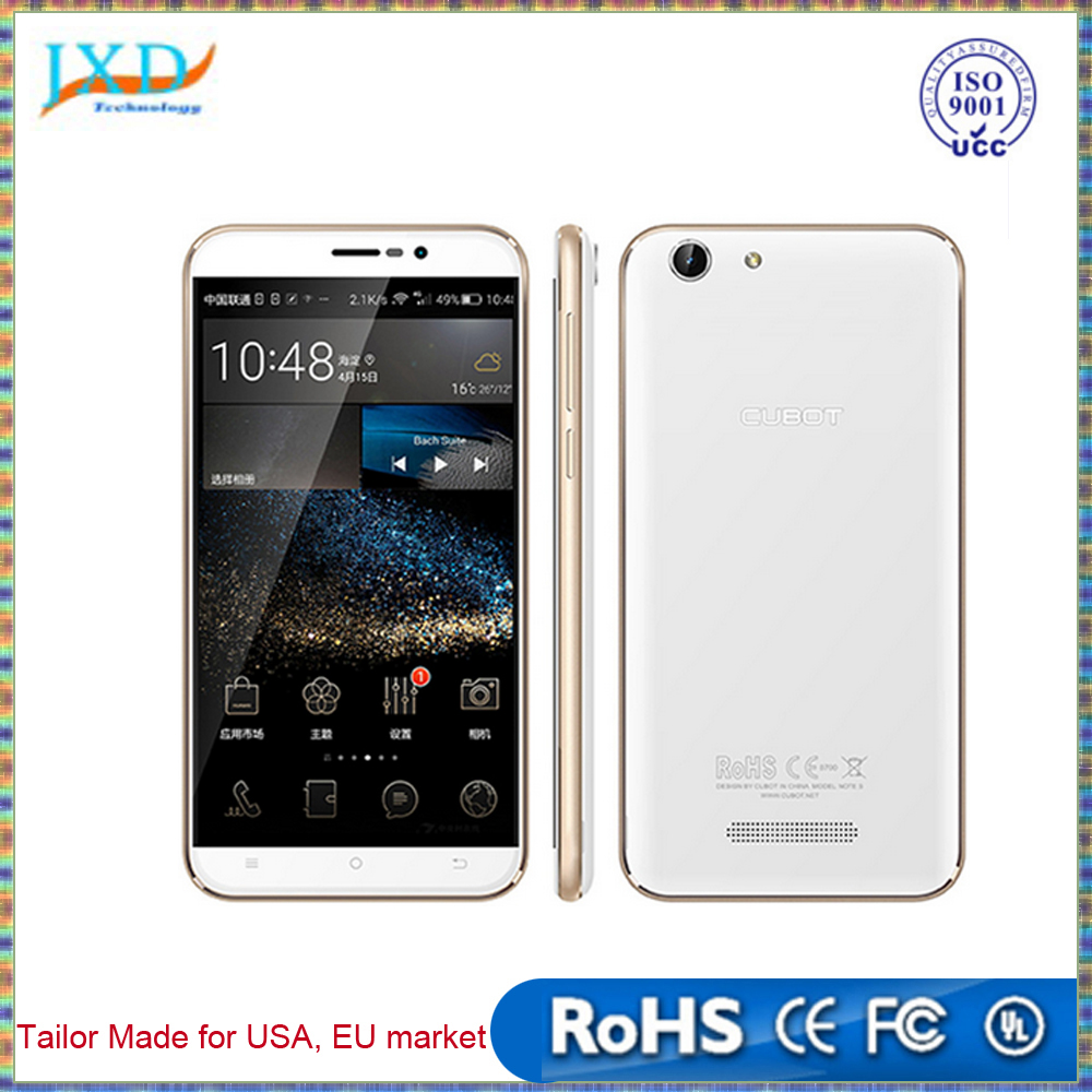Cubot Note S 4150mAh Battery Cellphone 5.5inch 1280X720 Android 5.1 Smartphone 3G WCDMA 2G RAM 16G ROM Mobile Phone