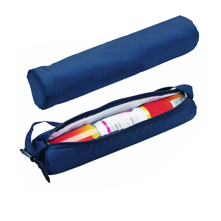 Wholesale thermal 6 can tube cooler, golf cooler bag insulated bag cooler bag