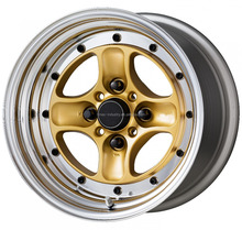 Alloy wheels Equip 15X8 15X9,new work design 4H 114.3. mag replica rim