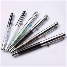 Carbon fiber decorative Multi color match Metal promotion pen