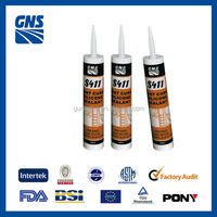 Excellent weathering resistance acetic silicone sealant