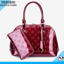 Latest new fashion trendy lady bags designer leather handbags 2016 Fashion Western Promotional for Women shoulder bags