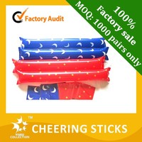 factory direct selling Cheering Stick,inflatable cheering stick,balloon cheering stick